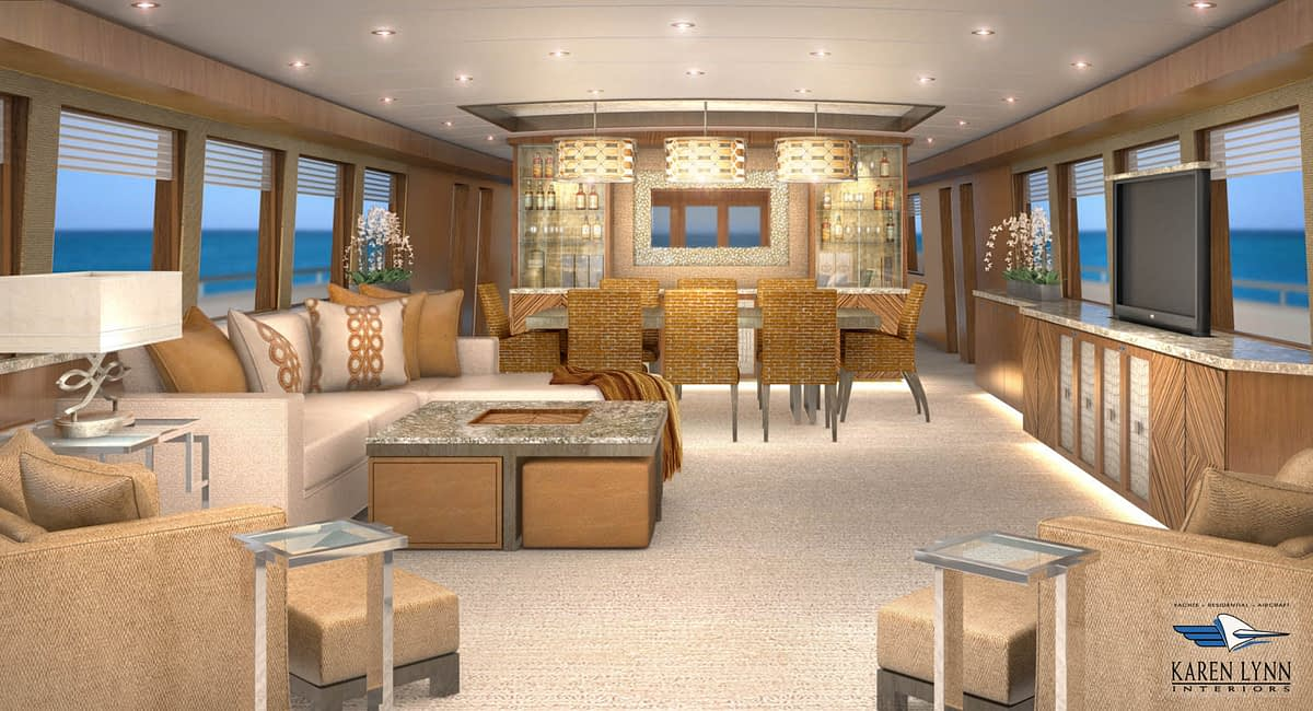 Winner Yacht Design Concept Rendering