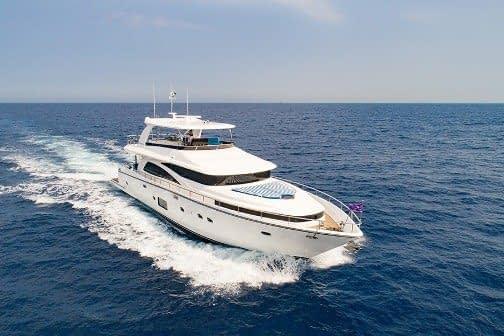Johnson Yacht 80ft